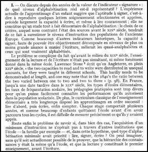 La croissance de l'alphabétisation en France (XVIIIe-XIXe siècle)