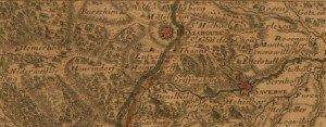 Carte Ancienne Phalsbourg