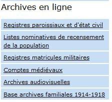 archives en lignes AD38